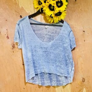 BDG 💕 Urban Outfitters Cropped Shift Tee - Gray L